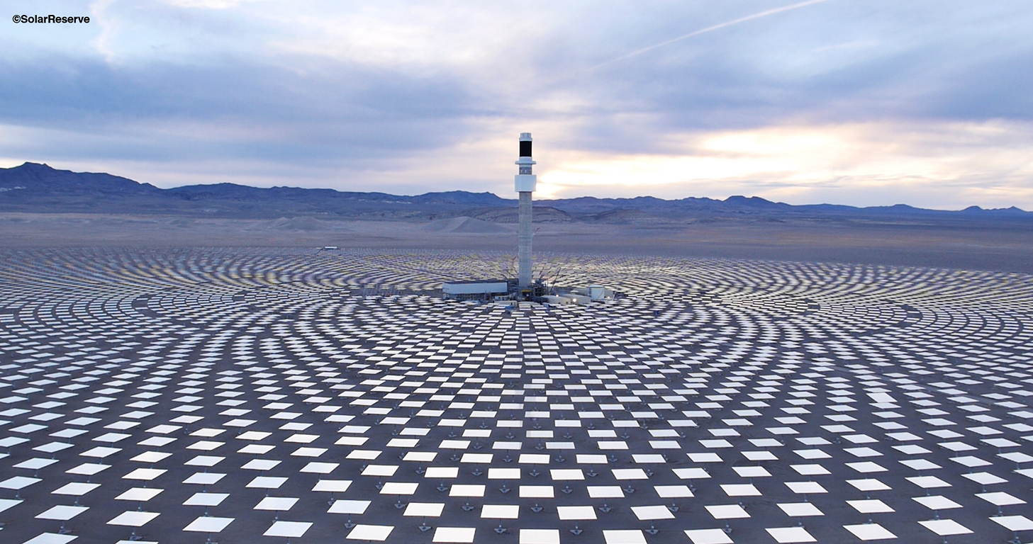 Crescent Dunes Thermal Solar Power Plant Brahma Group